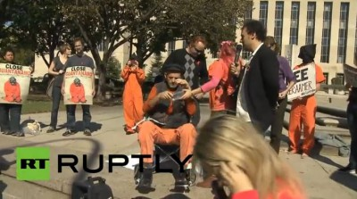 TEM posts - Torture in USA anti-Gitmo protest (2013 10 22)