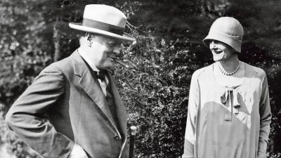 Winston Churchill et Clementine Churchill