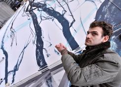 TEM - POST - Bonom, l'artiste français qui envoûte les murs de Bruxelles 1