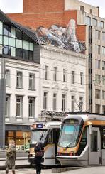 TEM - POST - Bonom, l'artiste français qui envoûte les murs de Bruxelles 2