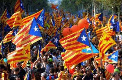 TEM - posts - ACTU «Nous voulons voter» le défi catalan à Madrid (2014 04 01)