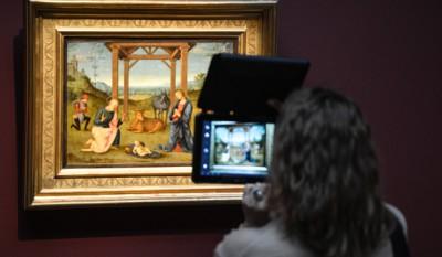Открытие выставки Итальянской живописи из собрания Галереи Каррары