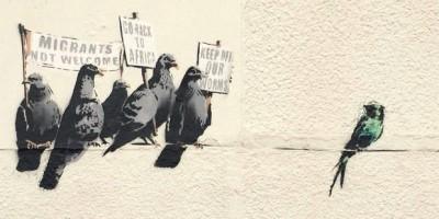 TEM - ARTS - Cette oeuvre de Banksy, jugée raciste, a été détruite 1
