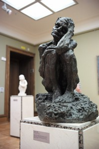 TEM - EXPO - L'hymne à la liberté de la sculptrice Goloubkina, exposée à Moscou (2014 10 08) (4)