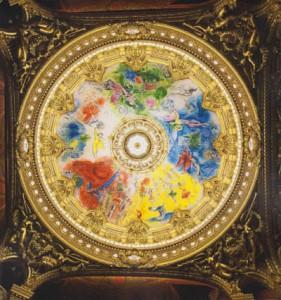 TEM  - Le plafond de Chagall à L'opéra 2