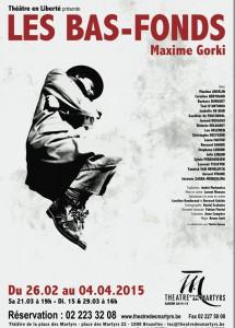 TEM - THEATRE - les bas fonds Maxime Gorki (2015 03 07)