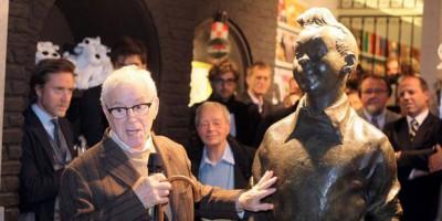 TEM - Tentative de vol de la statue de Tintin au Grand Sablon 1