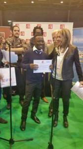 TEM - Le lauréat du Prix Jeune Écriture Francophone 2015  est Camerounais (2015 03 31)