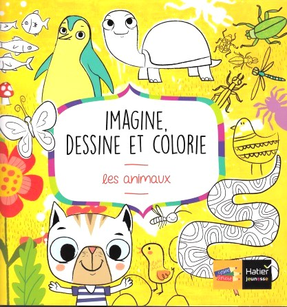 Imagine, dessine et colorie les animaux