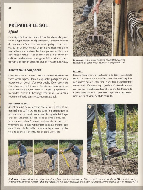 Le temps du potager - De la culture bio à la permaculture 2