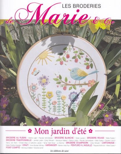 Mon jardin d'été - Les broderies de Marie & Cie