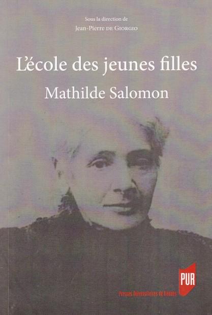 L'école des jeunes filles - Mathilde Salomon
