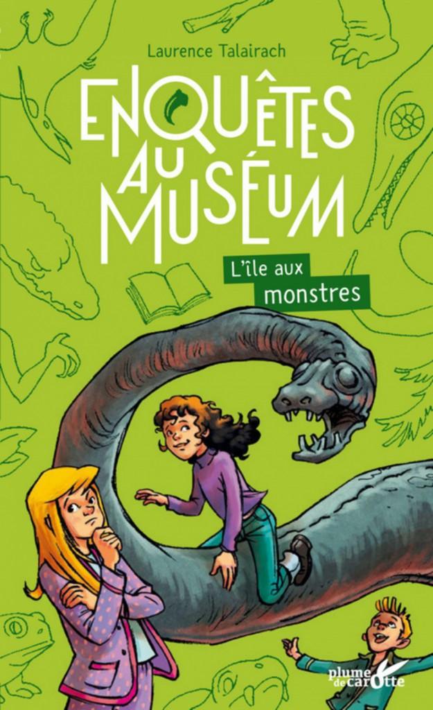 Enquête au Muséum  L'île aux monstres