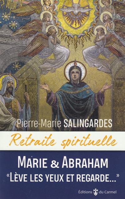 Marie et Abraham  lève les yeux et regarde.