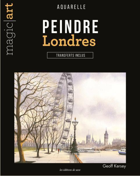 Peindre Londres - Aquarelle - Transferts inclus