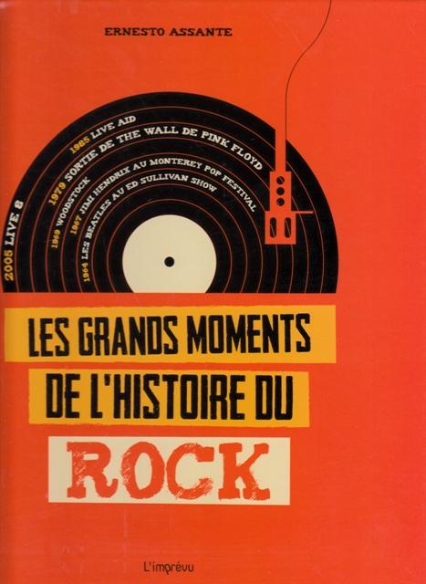 Les grands moments de l'histoire du rock BX